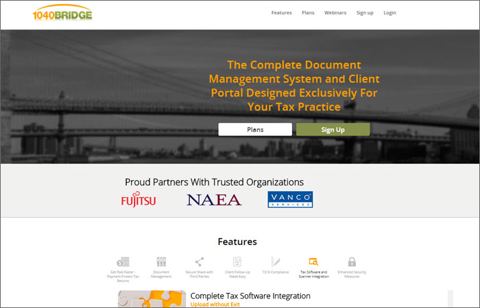 1040Bridge.com - SaaS for Tax Consultants