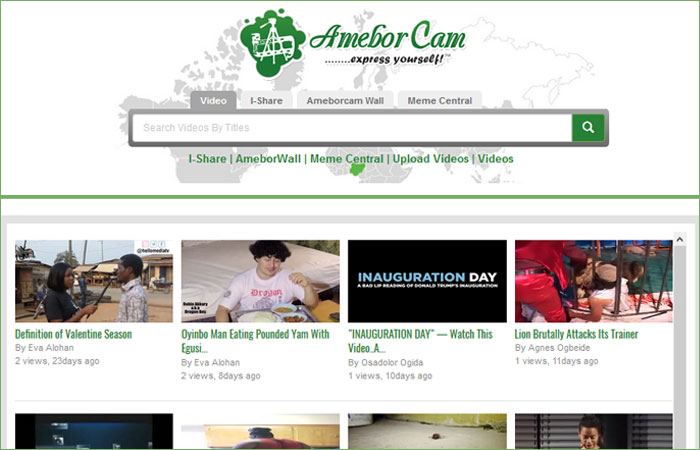 AmeborCam.com - express yourself!